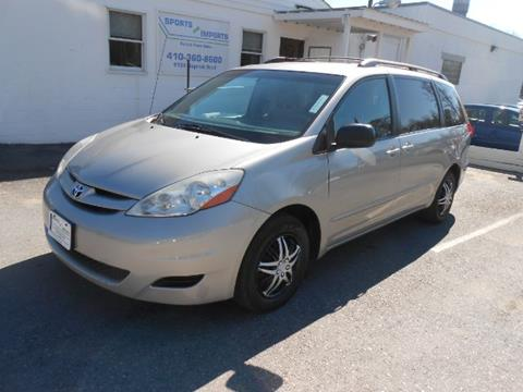 2009 Toyota Sienna for sale in Pasadena, MD