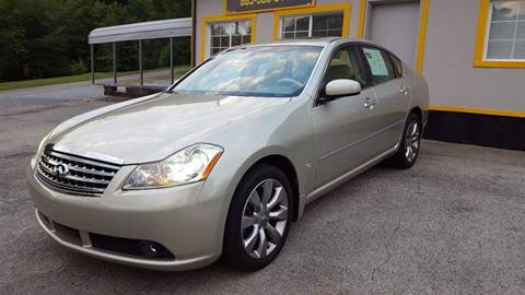 2006 Infiniti M35 for sale at Auto Titan in Knoxville TN
