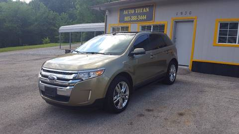 2013 Ford Edge for sale at Auto Titan in Knoxville TN