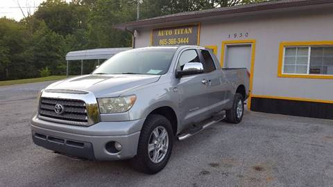 2007 Toyota Tundra for sale at Auto Titan in Knoxville TN
