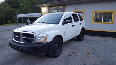 2005 Dodge Durango for sale at Auto Titan in Knoxville TN