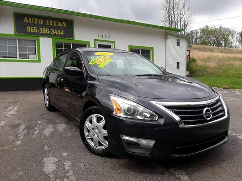 2013 Nissan Altima for sale at Auto Titan in Knoxville TN