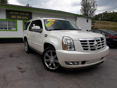 2007 Cadillac Escalade for sale at Auto Titan in Knoxville TN