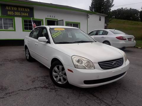 2006 Kia Optima for sale at Auto Titan in Knoxville TN