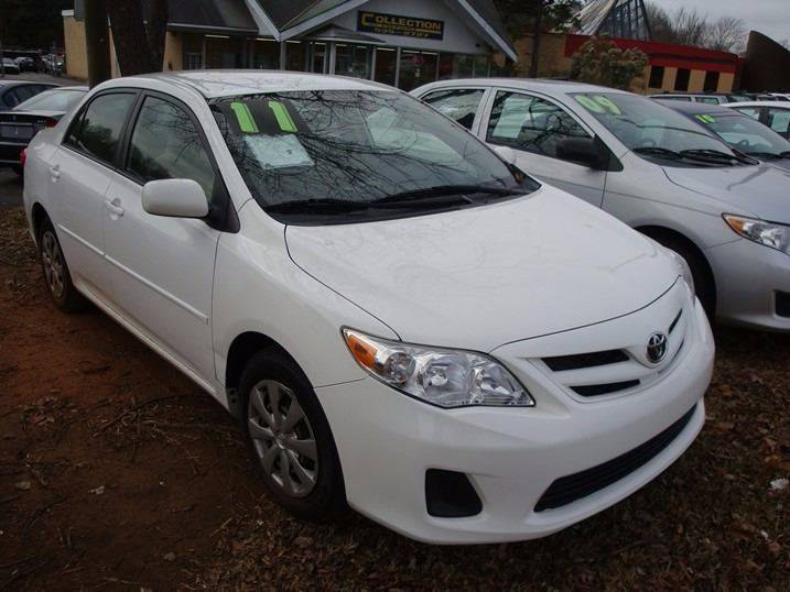2011 Toyota Corolla for sale at Collection Auto Import in Charlotte NC