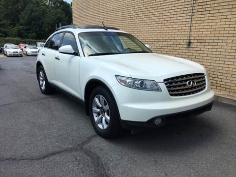 infiniti fx35 for sale in charlotte, nc - collection auto import