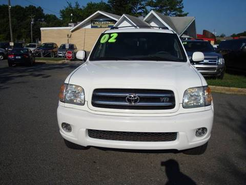 2002 Toyota Sequoia for sale at Collection Auto Import in Charlotte NC