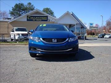 2015 Honda Civic for sale at Collection Auto Import in Charlotte NC