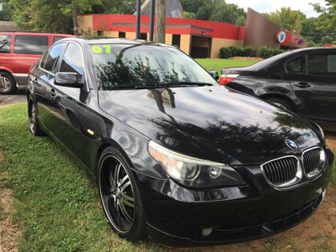 2007 BMW 5 Series for sale at Collection Auto Import in Charlotte NC