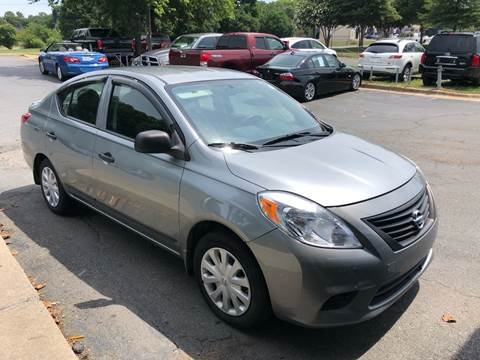 2012 Nissan Versa for sale at Collection Auto Import in Charlotte NC