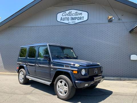 2002 Mercedes-Benz G-Class for sale at Collection Auto Import in Charlotte NC