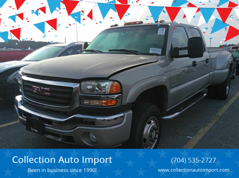 2004 GMC Sierra 3500 for sale at Collection Auto Import in Charlotte NC