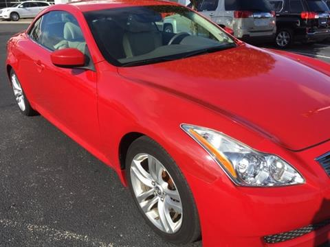 2009 Infiniti G37 Convertible for sale in Fishers, IN