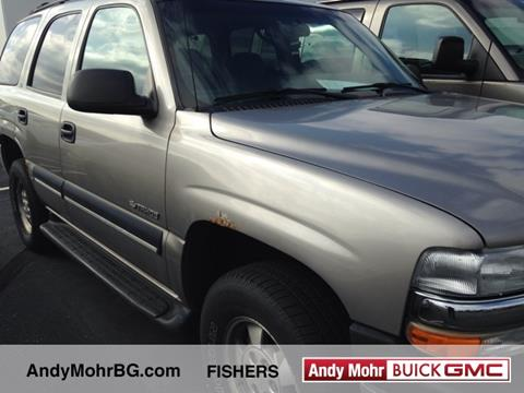 2001 Chevrolet Tahoe for sale in Fishers, IN