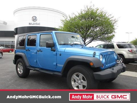 2010 Jeep Wrangler Unlimited for sale in Fishers, IN