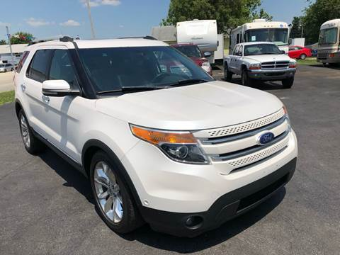 2011 Ford Explorer Limited >> Ford Explorer For Sale In Kokomo In Collins Auto Group