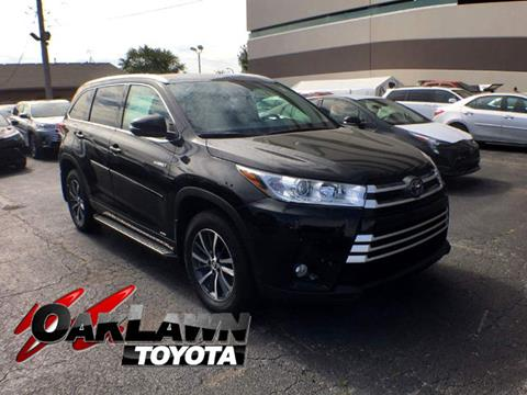 2017 Toyota Highlander Hybrid for sale in Oak Lawn, IL