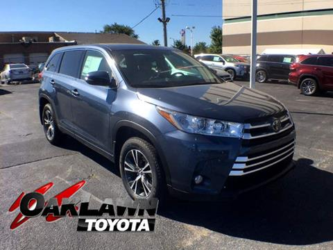 2017 Toyota Highlander for sale in Oak Lawn, IL