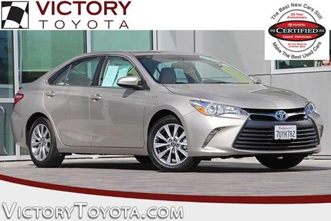 2017 Toyota Camry Hybrid for sale in Seaside, CA