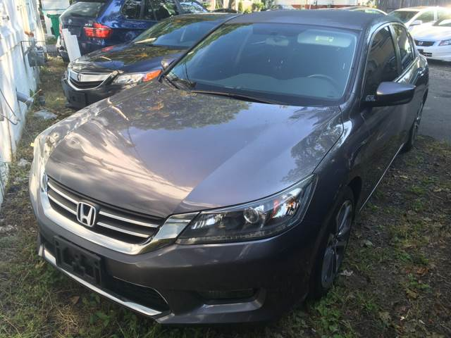 2014 Honda Accord for sale at MELILLO MOTORS INC in North Haven CT