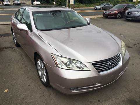 2007 Lexus ES 350 for sale at MELILLO MOTORS INC in North Haven CT