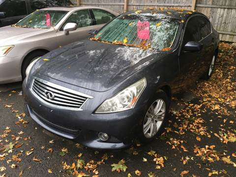 2011 Infiniti G25 Sedan for sale in North Haven, CT