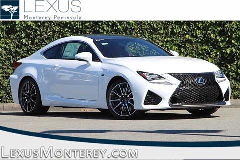 2017 Lexus RC F for sale in Seaside, CA