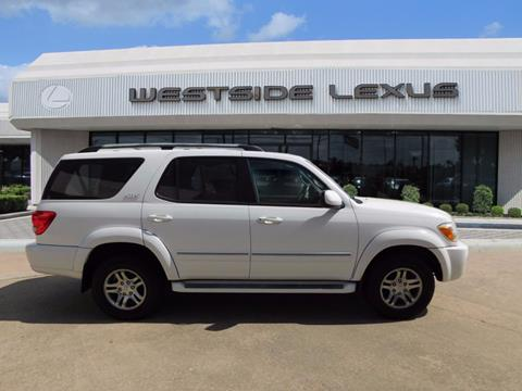2007 Toyota Sequoia for sale in Houston TX