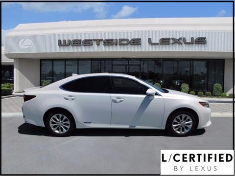 2015 Lexus ES 300h for sale in Houston TX