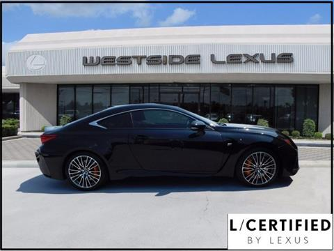 2016 Lexus RC F for sale in Houston TX