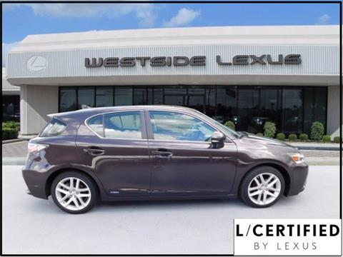2015 Lexus CT 200h for sale in Houston, TX