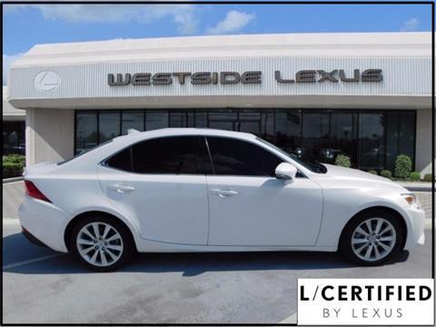 2015 Lexus IS 250 for sale in Houston, TX
