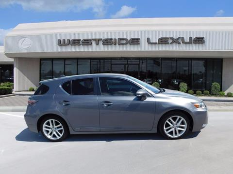 2014 Lexus CT 200h for sale in Houston, TX