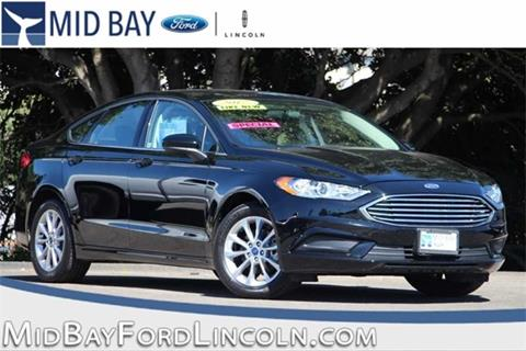 2017 Ford Fusion for sale in Watsonville CA