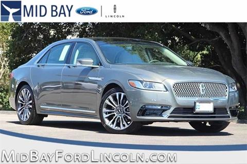 2017 Lincoln Continental for sale in Watsonville CA