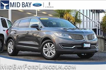 2017 Lincoln MKX for sale in Watsonville, CA