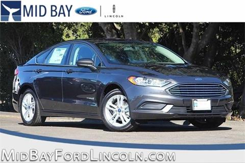2018 Ford Fusion Hybrid for sale in Watsonville CA