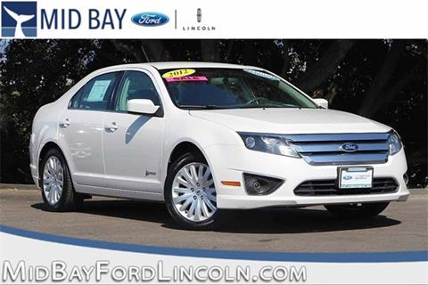 2012 Ford Fusion Hybrid for sale in Watsonville CA