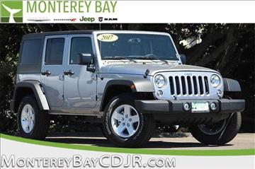 2017 Jeep Wrangler Unlimited for sale in Watsonville, CA