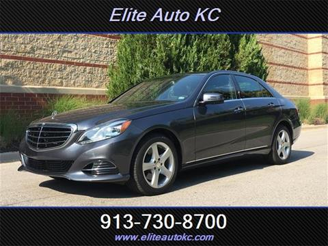 2014 Mercedes-Benz E-Class for sale in Overland Park KS