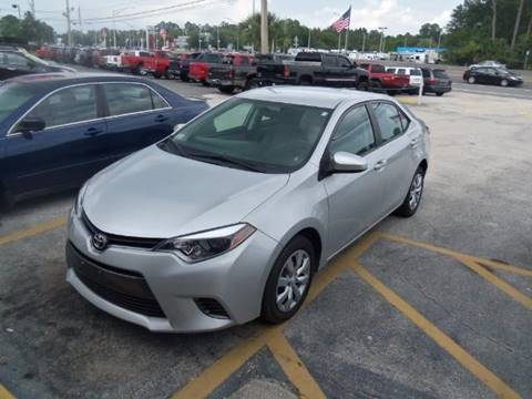 2015 Toyota Corolla for sale in Jacksonville, FL