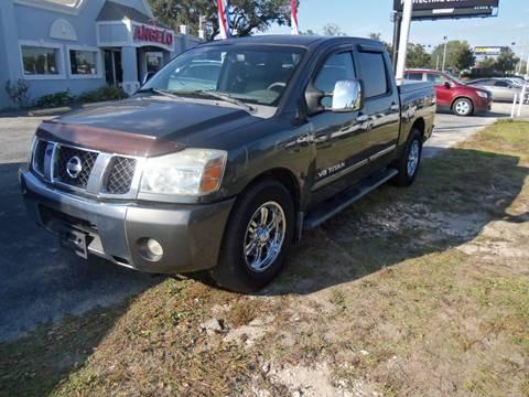 2006 Nissan Titan for sale at ORANGE PARK AUTO in Jacksonville FL