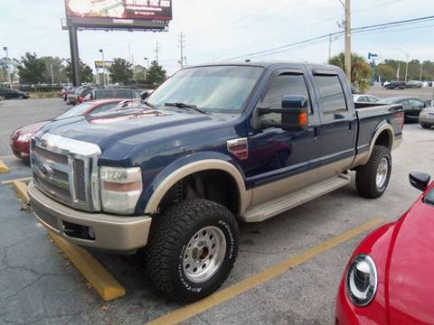 2008 Ford F-250 Super Duty for sale at ORANGE PARK AUTO in Jacksonville FL
