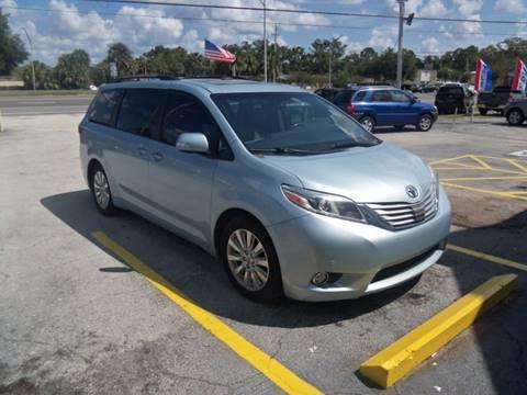 2015 Toyota Sienna for sale at ORANGE PARK AUTO in Jacksonville FL
