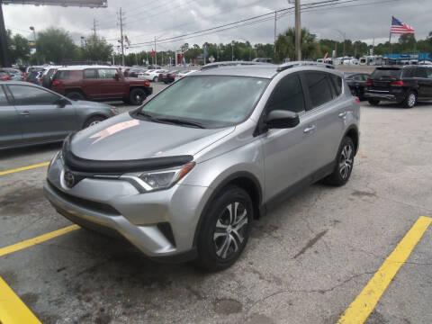 2017 Toyota RAV4 for sale at ORANGE PARK AUTO in Jacksonville FL