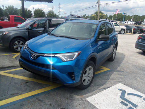 2016 Toyota RAV4 for sale at ORANGE PARK AUTO in Jacksonville FL