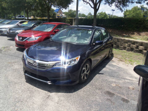 2017 Honda Accord for sale at ORANGE PARK AUTO in Jacksonville FL