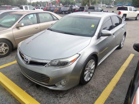 2015 Toyota Avalon for sale at ORANGE PARK AUTO in Jacksonville FL