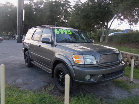 2004 Toyota Sequoia for sale at ORANGE PARK AUTO in Jacksonville FL