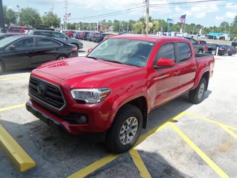 2019 Toyota Tacoma for sale at ORANGE PARK AUTO in Jacksonville FL
